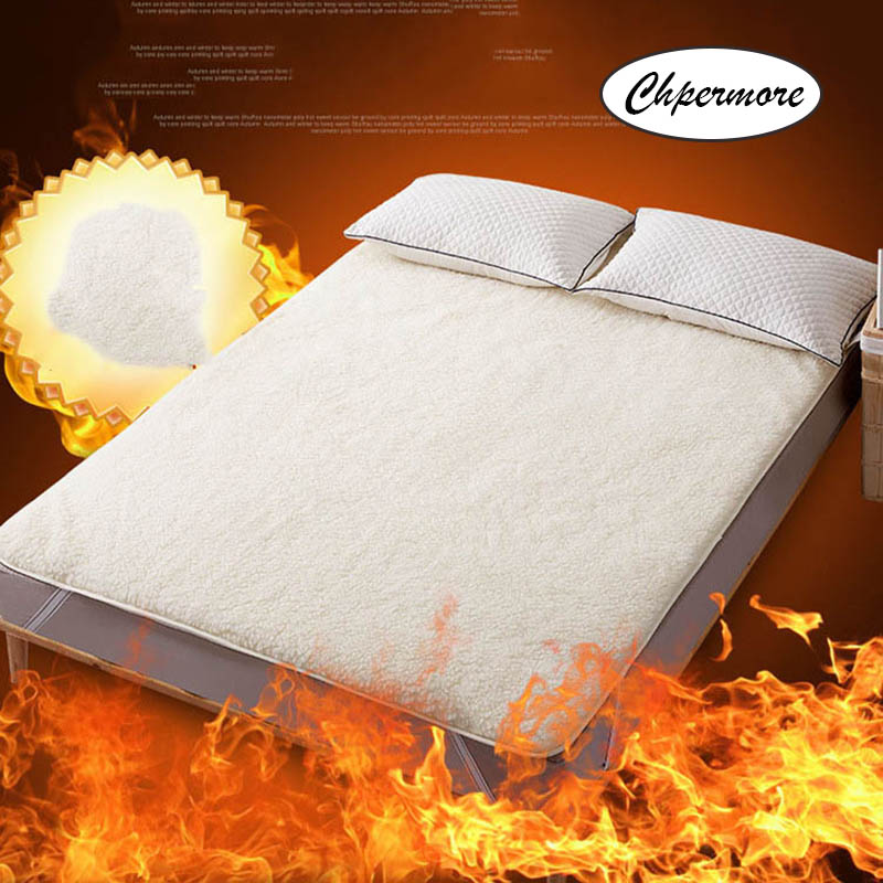 Chpermore High-end Luxury Wool Mattresses Foldable Thick Warm Tatami For Family Bedspreads King Queen Twin Full Size