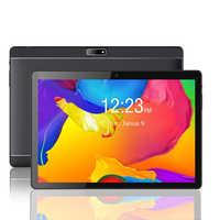 Android 10.1 do pc da tabuleta do telefone do quadrilátero-núcleo 3g com entalhes e câmeras duplos do cartão de sim da tabuleta de 1.3 polegadas android 4 gb + 64 gb 8.0 ghz