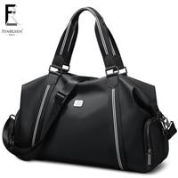 FRN Travel Bag Men Duffle Bag Large Capacity Weekend Travel Bags Hand Luggage with Shoulder Strap Waterproof