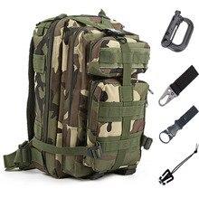 Militar dos homens tático mochila saco de pesca trekking esporte mochilas acampamento viagem caminhadas pesca camo sacos atrair 20 30l