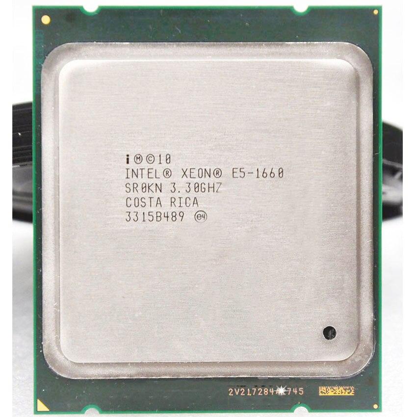 Intel Xeon E5-1660 E5 1660 E51660 3.3GHz  Turbo Frequency 3.9 6Core 15Mb Cache Socket 2011 CPU Processor Stronger Than E5 1650
