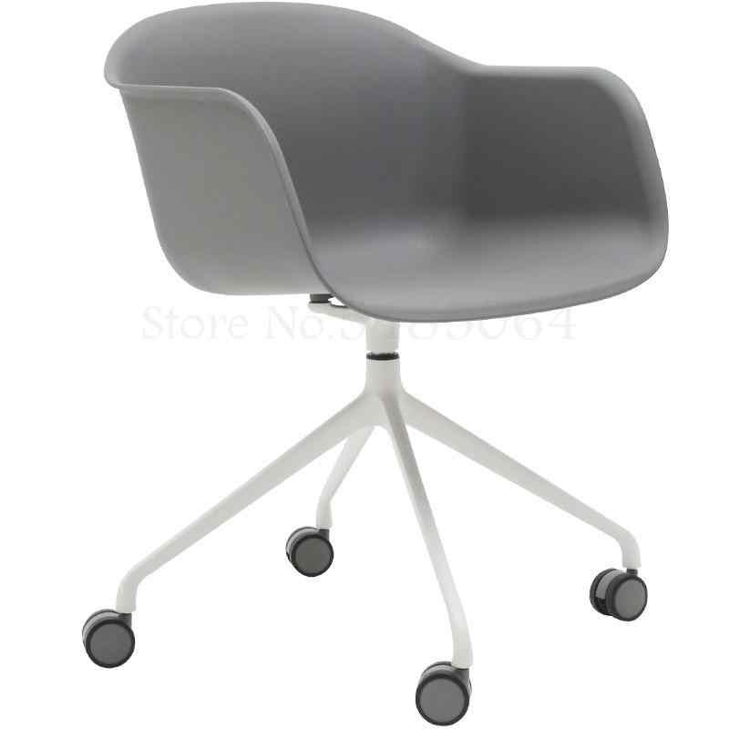 Scandinavian Computer Chair Modern Wheel Home Negotiation Office Chair Personality Simple Danish Casual Designer Study Chair Aliexpress