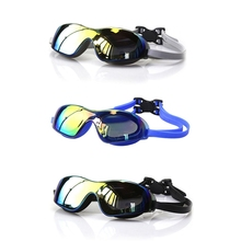 Swimming Goggles High Definition Electroplated Lens Waterproof Dust-proof Anti-fog Anti-UV Glasses Adult Eyewear Women Men