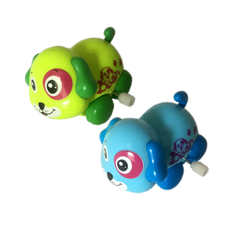 Spring Small Animal Baby Winding Cartoon Children'S Educational Street Vendor Supply Of Goods Puppy Small Toys