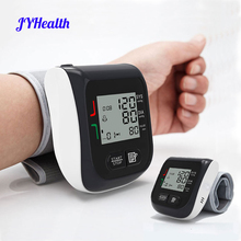 JYouCare Medical Digital LCD Wrist Automatic Wrist Blood Pressure Monitor Tonometer Automatic sphygmomanometer bp Mete Tonometer