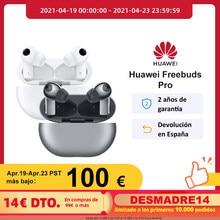 Huawei – FreeBuds Pro réduction Active du bruit, son ambiant, Transmission vocale transparente, connexion à double appareil