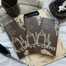 My Coffee TN Refilled Paper Book 64P Blank/Dotted/Grided/ Weekly Plan планер my happy plan мятный