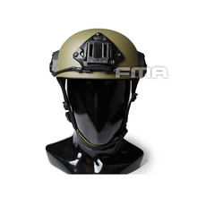 New Paintball Fma Maritime Tactical Riding Helmet Rg (m /l) Tb1055 -rg 2019 new men tactical hot military helmet