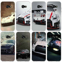 Soft Silicone Phone Cases For Samsung Galaxy J2 J3 J4 J6 J5 J7 J8 A3 A5 A7 2016 2017 2018 Shell Hot Nissan GTR Need Speed(China)