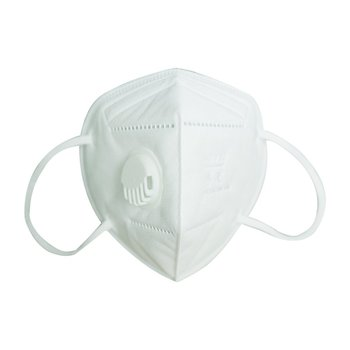 10 PCS  Dust Mask Double Air Valve Anti Pollution Mask Dust Mask Anti-fog Activated Carbon Filter Flu-proof Mouth Mask