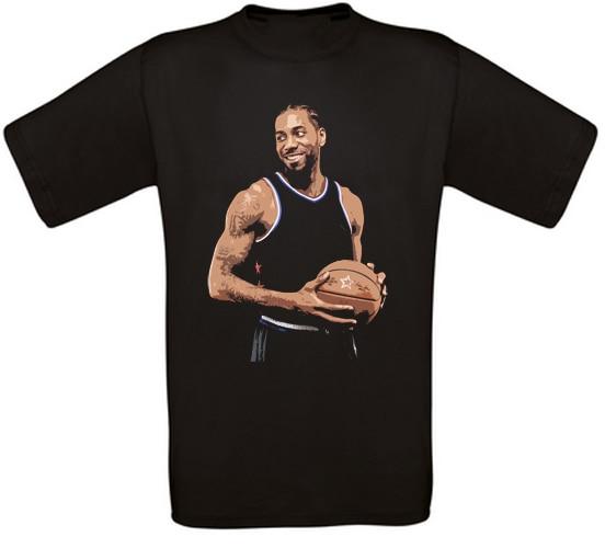 Kawhi Leonard Toronto T-Shirt de basket-ball Toutes Tailles Neuf mode T-Shirt classique