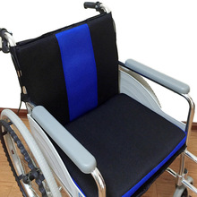 Polyester Integrated Chair Cushion Modern Style Breathable Sofa Wheelchair Seat Mat Soft Super Sit Pad