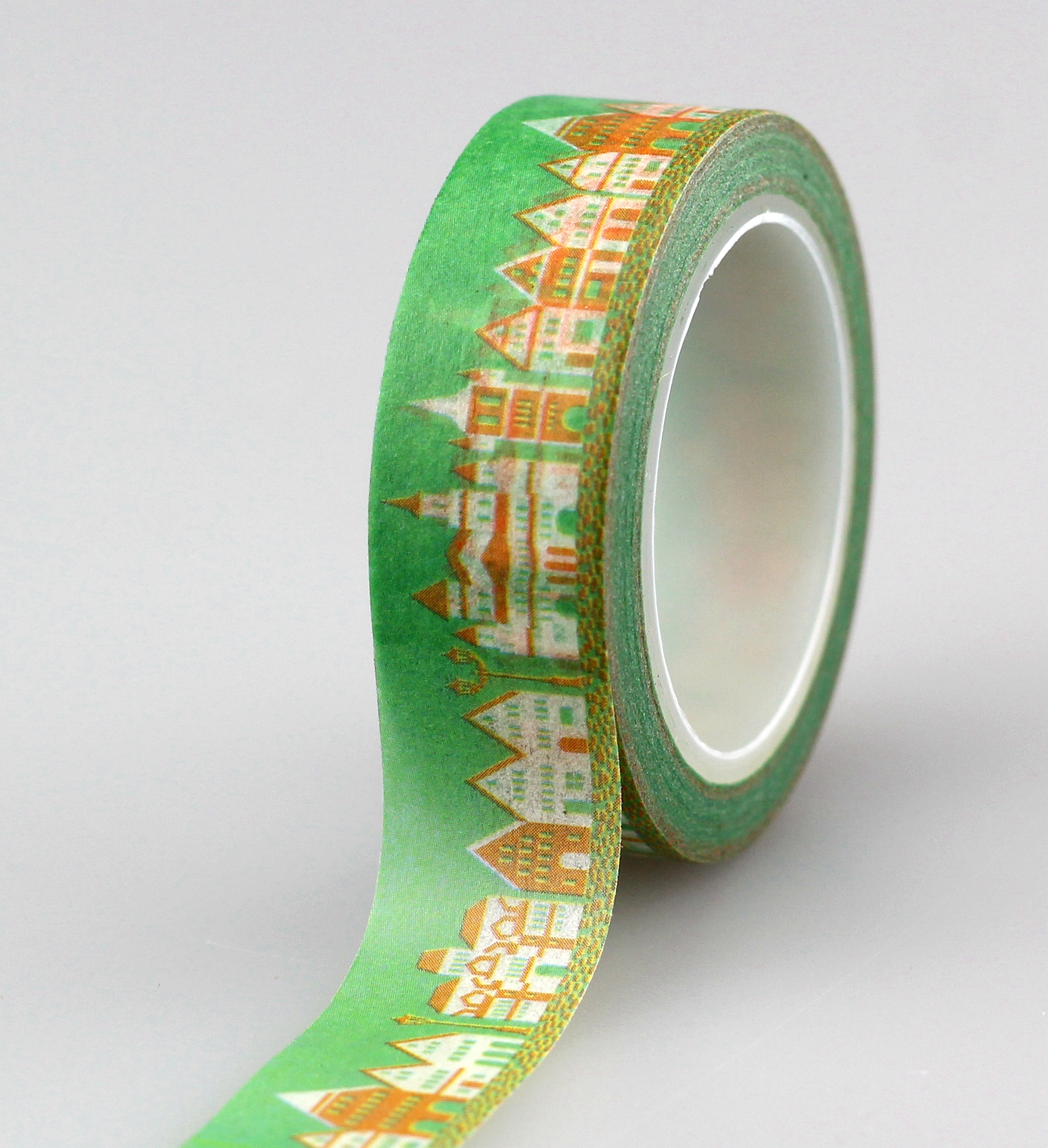 10pcs/lot Decorative Cute Village Washi Tapes Paper DIY Scrapbooking Planner Adhesive Masking Tapes Kawaii Stationery