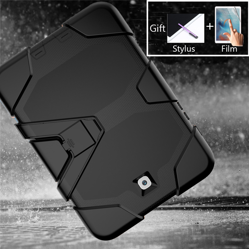 Amor Heavy Duty Case For Samsung Galaxy Tab S2 8.0 '' SM-T710 T715 T713 T710 T715 Tablet Case Soft Silicone +PC Back Cover