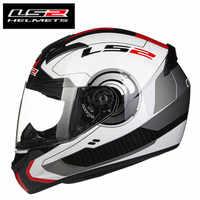 Ls2 ff352 rosto cheio moto rcycle capacete de corrida homem mulher ls2 capacete jet capacete da moto