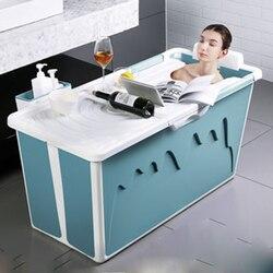 Пластиковая Ванна для взрослых и детей, ванна с ручкой для маленькой ванной, домашняя большая ванна, душевой поддон, Нескользящие аксессуар...