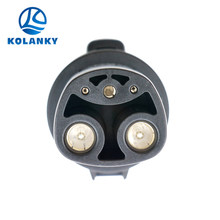 J1772 Tesla Electric Car Charger SAE J1772 Connector to Tesla Model 2 Electric Car Type 1 to Type 2 Ev Adaptor Connector 60A