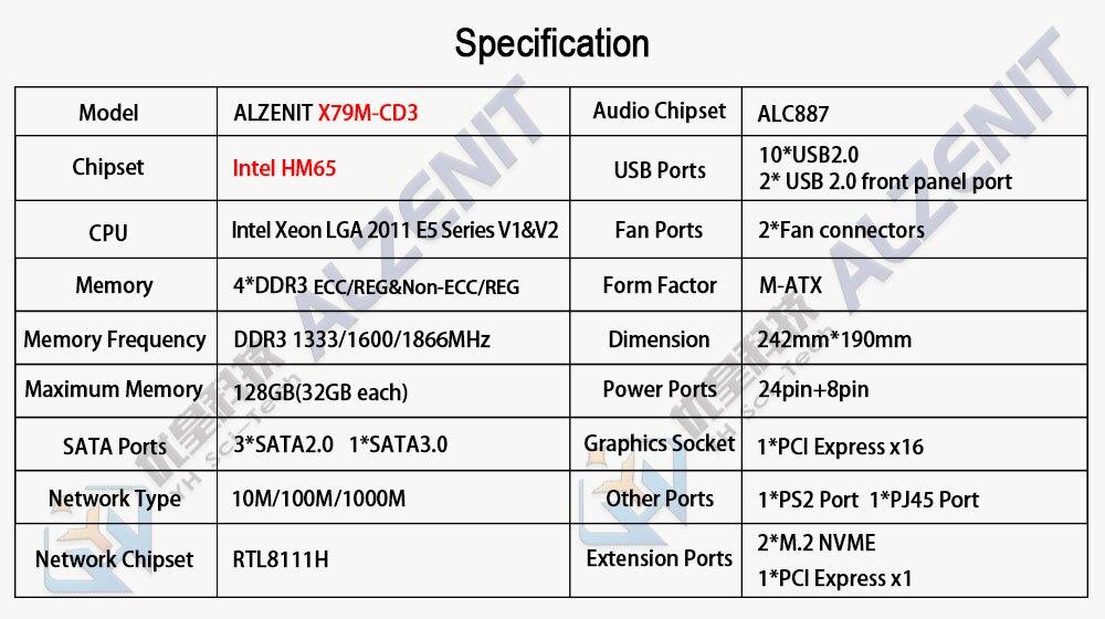 X79M-CD3参数
