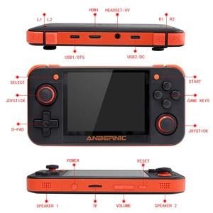 """Image 4 - HEYNOW RG350 Retro spielkonsole HDMI Ausgang 3.5 """"IPS Bildschirm 10000 + Spiele 18 Emulator Linux System Handheld Spiel player Beste Geschenk"""
