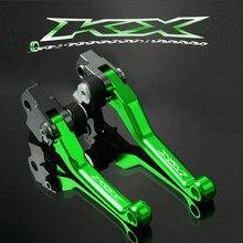 Мотоцикл Dirt Pit Bike Pivot тормозные рычаги сцепления для Kawasaki KX 65 80 85 125 2001-2018 KX250 2000-2008 KX 250F 450F 2006-2018