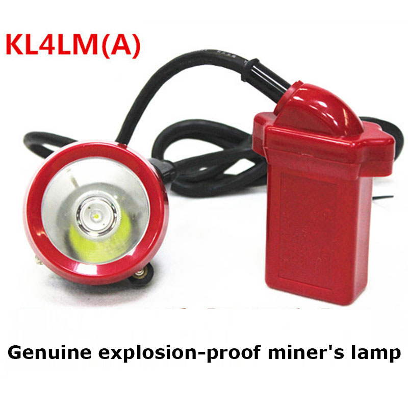 Headlight Coal Mine Special Explosion-proof Miner's Lamp KL4LM (A) Rechargeable Miner's Lamp LED Underground Waterproof