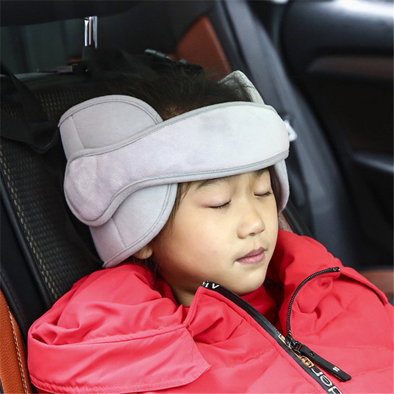 New Child Car Seat Safety Baby Head Fixing Auxiliary Cotton Belt Adjusted Infants Sleeping Fixing Bent Head Security Protector
