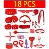18 PCS Red