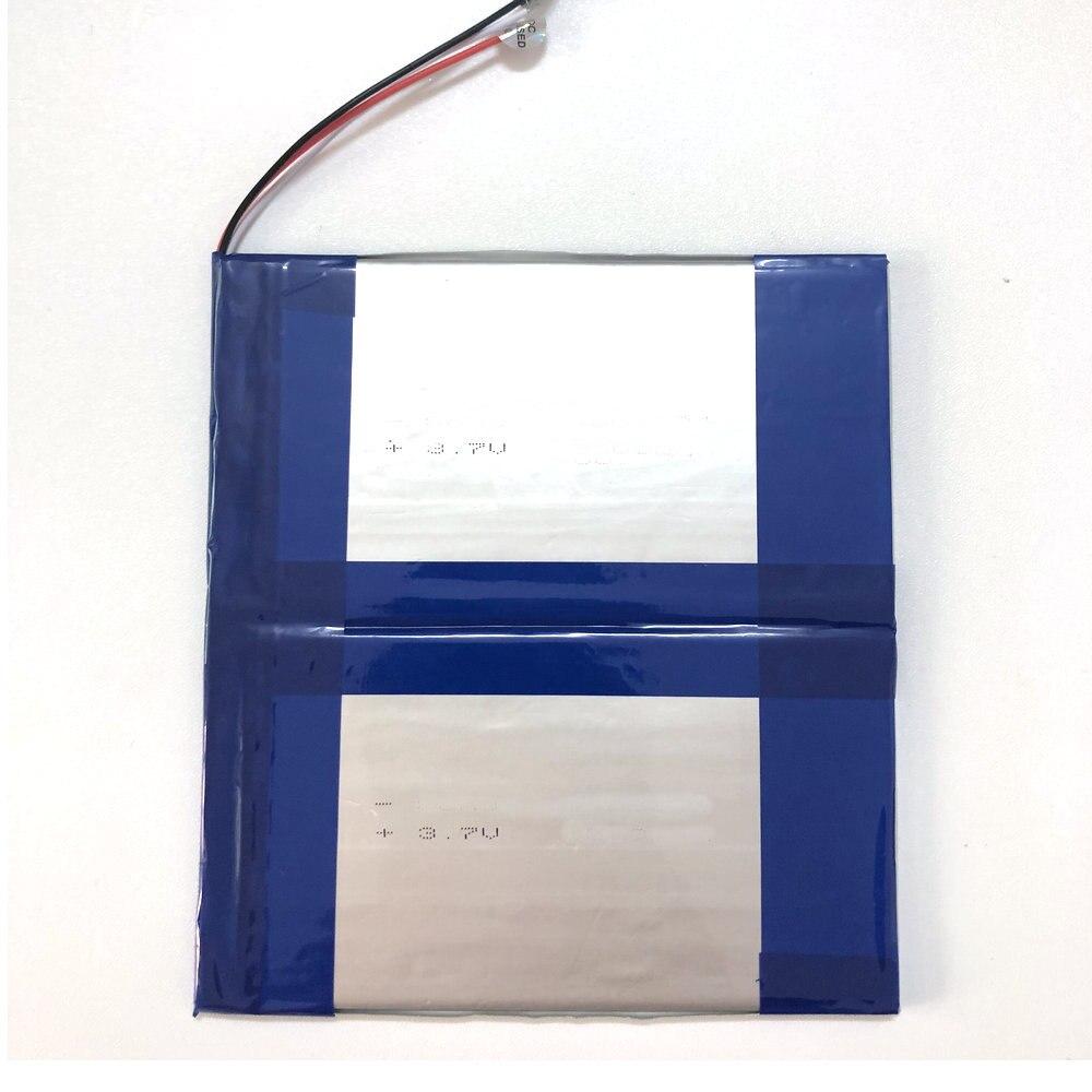 Сменный аккумулятор оригинального размера для CHUWI hi10pro hi10 pro, планшетный ПК, 2 сварочных провода, 3,7 В, 11000 мАч