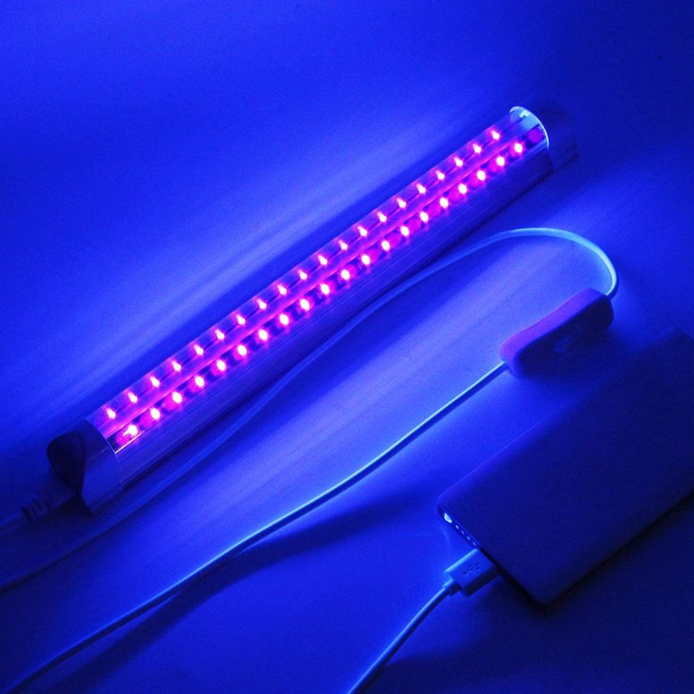 5V  UV Light Tube 30cm  Disinfection Lamp Sterilization Mites Lights Germicidal Lamp,use For Mask