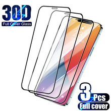 Protective-Glass Screen-Protector Full-Cover Mini iPhone 11 12-Pro 8-Plus 6S for 7 SE