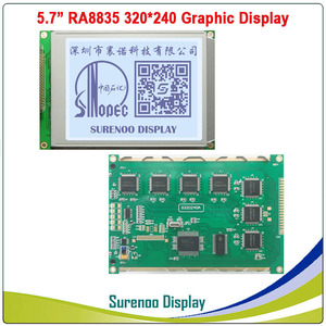 """Image 3 - 5.7"""" 320X240 320240 Graphic LCD Module Display Panel Screen LCM with RA8835 Controller Blue White LCD with LED Backlight"""