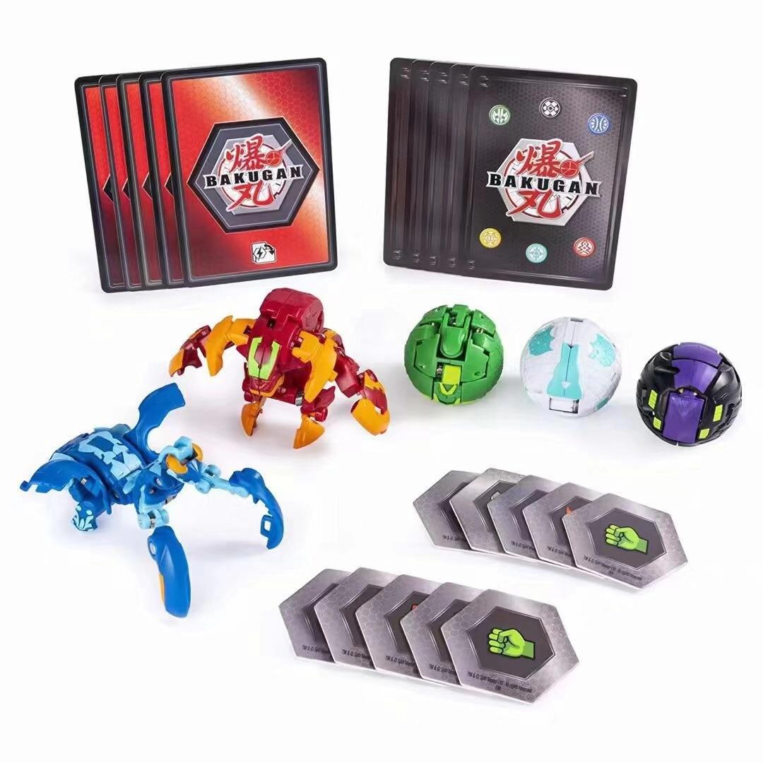 Ball-Toys Transformation Planet-Game Battle Monster Baku Drago Brawlers