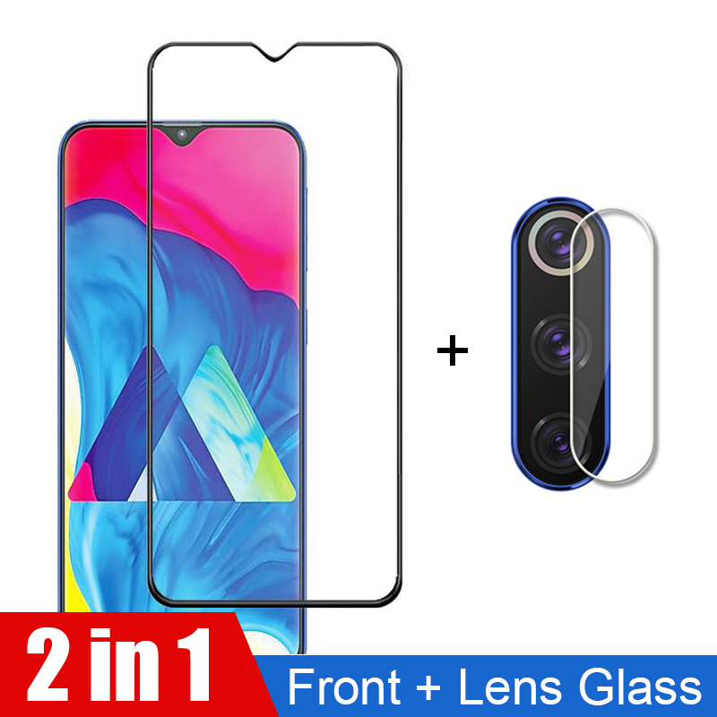 Front glass + Camera Protective Glass For Realme X2 Pro XT Q 5 5S 3i X Lite C2 C1 3 2 Real me 5pro 3pro Glass Screen Protector