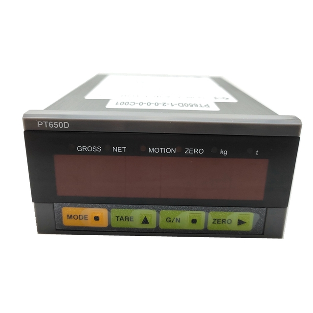 PT650D+4 20ma analog output weighing display controller
