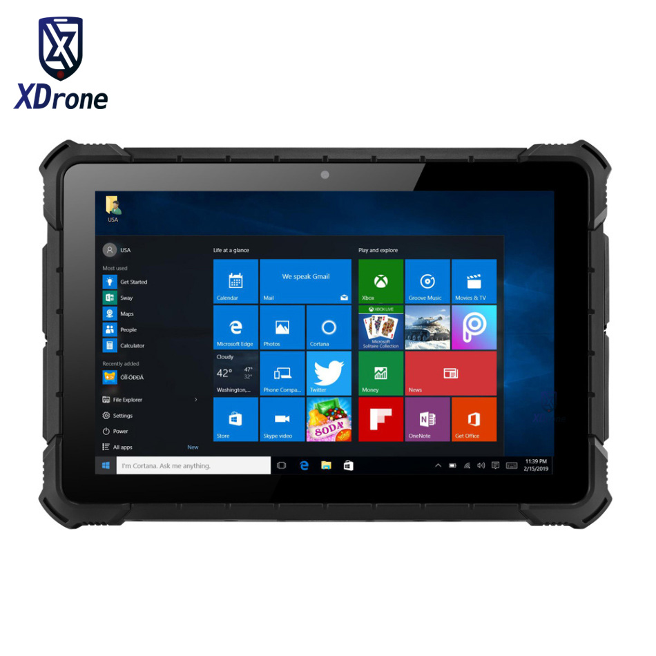 Original Windows 10 Rugged Waterproof Tablet PC PIPO X4 Mobile Computer Car Diagnostic Industrial PC Z8350 Quad Core 4G RAM