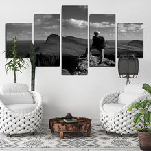 Постер украшение картина для пожилых скалолазания 5 шт холст