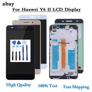 Image 1 - Per Huawei Y6 II Y6II Y6 2 Display LCD CAM L23 CAM L03 CAM L21 CAM AL00 Touch Screen Digitizer Assembly di Ricambio LCD 5.5 sostituire