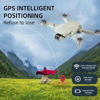 Dron Q8 teledirigido con Motor sin escobillas, cuadricóptero con GPS, retorno inteligente a casa, posicionamiento de flujo óptico 4k, novedad de 2021