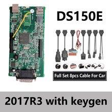 2020 nowy przyjazd VCI skaner vd ds150e Bluetooth 2017R3 2016 keygen dla delphis autocoms obd2 narzędzia diagnostyczne