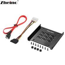 Zheino HDD SSD Монтажный кронштейн настольная рамка для 2,5 дюймов до 3,5 дюймов монтажный адаптер кронштейн comptuer держатель