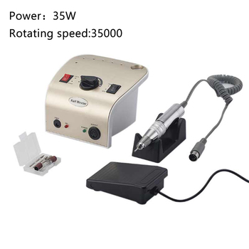 35000RPM Electric Nail Drill Bits Mill Cutter Machine For Manicure Professional Nail File Tools Multifunction Nail Art Machine