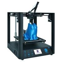 TRONXY D01 빠른 조립 3D 프린터 아크릴 마스크 옵션  산업용 선형 가이드 타이탄 압출기 초 저소음 모드 3d 인쇄