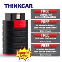 THINKCAR OBD2 Bluetooth Diagnostic Tool ThinkDiag OBD 2 Code Reader Scanner Professional Auto 15 Reset Service PK EasyDiag AP200
