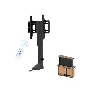 Image 4 - Uchwyt do telewizora regulacja wysokości mocowanie telewizora podnoszenie elektryczne wsparcie dla telewizora odpowiedni do 32 ~ 70 calowy zmotoryzowany pionowy stojak LIFT