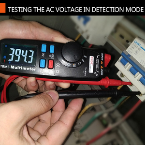 Image 5 - BSIDE kieszonkowy multimetr cyfrowy kolorowy wyświetlacz LCD Auto zakres True RMS woltomierz napięcie Pen pojemność NCV Tester DIY narzędzie elektryczne