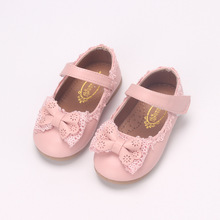 Shoes Size-1 2-Year Lace Bowknot Toddler Autumn Princess Kids Fashion