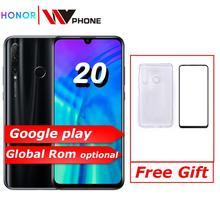 Original honor 20 lite Honor 20i Mobile Phone 6.21 inch Andr