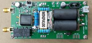 Image 3 - Assembed with heatsink MINIPA100 1.8 54MHz 100W SSB linear HF Power Amplifier For YAESU FT 817 KX3 FT 818 CW AM FM