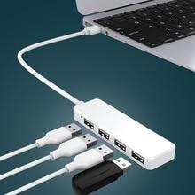 2019 Hot Sale New 4 USB 2.0 Ports Hub Speed Splitter Adapter