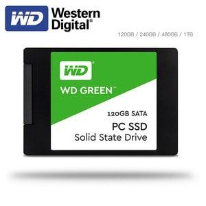 Western Digital WD SSD GREEN PC 2.5 inch SATA3 HDD Hard Disk SSD120GB 240GB 480GB Internal Solid State Drive for Laptop Desktop